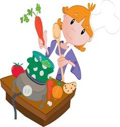 kitchen2 vector image
