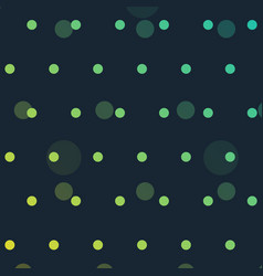 cute polka dots background vector image vector image