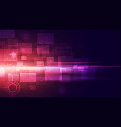 Abstract technology concept background vector