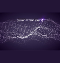 artificial intelligence automation technology vector image