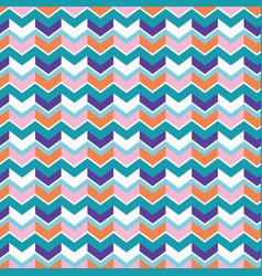 chevron arrow pattern seamless pattern vector image