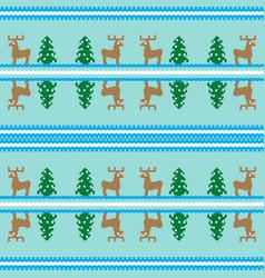 Christmas seamless pattern card cute christmas vector