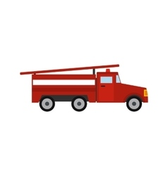 Fire truck icon vector image