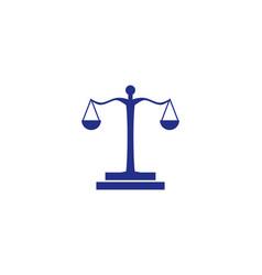 law logo vector image