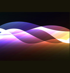 Line curve transparent layer abstract background vector