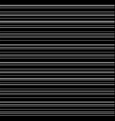 line seamless pattern white lines on black vector image