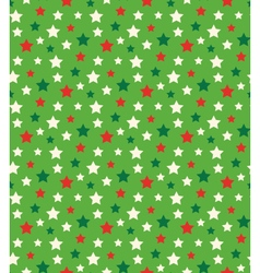 Seamless Bright Abstract Pattern with Stars in vector