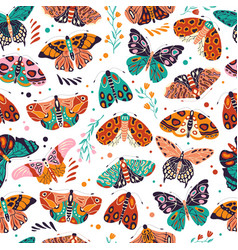 seamless pattern with colorful hand drawn vector image