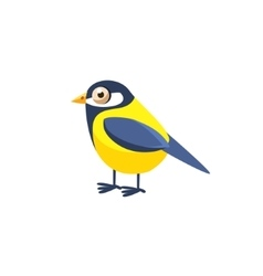 Tomtit Simplified Cute vector