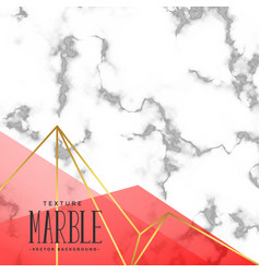 Trendy marble texture effect background vector