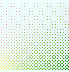 abstract gradient halftone dot pattern background vector image
