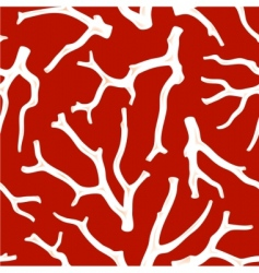 coral seamless texture vector image vector image