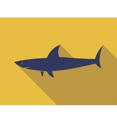 Shark sign vector image vector image