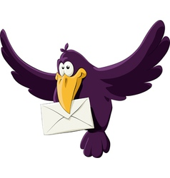 birdandletter vector image