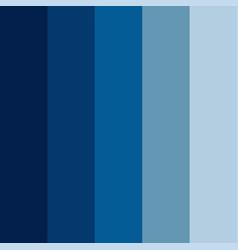 Blue color palette vector