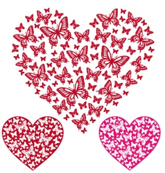 Butterfly Heart vector
