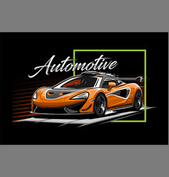 Car sport are perfect for screen printing vector