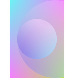 Circle fluid with round spheres vector