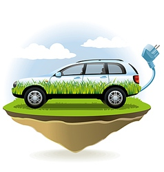 EcoCar vector image