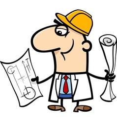 Engineer cartoon vector