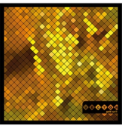 gold eps vector image