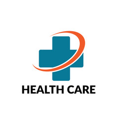 health care business logo vector image