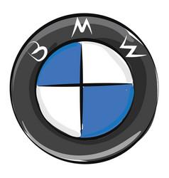 Image bmw logo or color vector