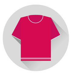 sweater short sleeve icon vector image