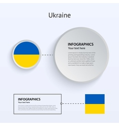 Ukraine Country Set of Banners vector image