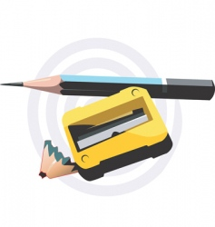 cutter sharpened vector image