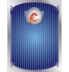 The cognac desk vector image vector image
