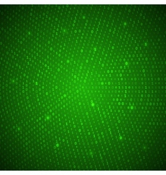 Abstract Green Binary Background vector