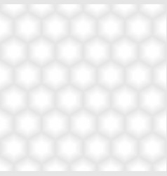 Abstract hexagonal white texture background vector