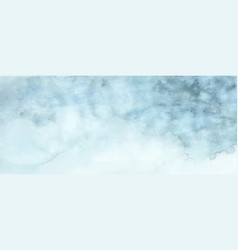 abstract light blue watercolor for background vector image