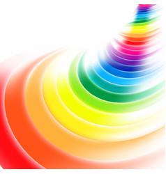 Abstract rainbow gradient mesh multicolored vector
