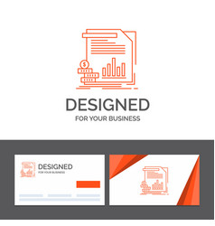 business logo template for economy finance money vector image