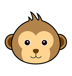 cute monkey cute monkey vector image