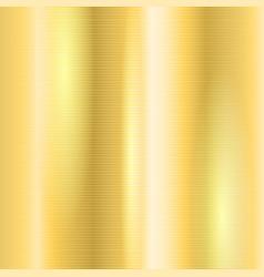 Golden metallic texture background vector