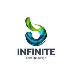 Infinite logo business branding icon vector image