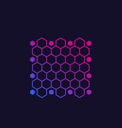 Nano materials nanotechnology vector