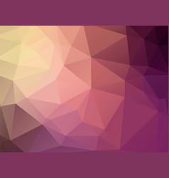 pastel purple dark geometric background vector image