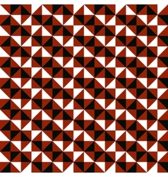 pattern with small triangles vector image