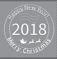 print for christmas envelopes-01 vector image