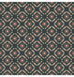 seamless pattern with boomerangs and stars vector image
