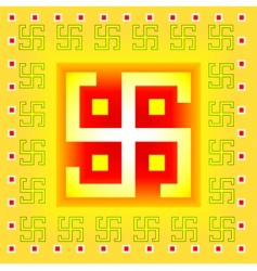 Swastika symbol vector