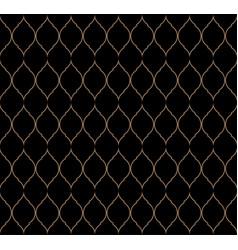 Vintage stylish luxury trellis decorative seamless vector
