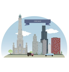 Chicago vector image