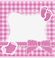 baby pink vector image vector image