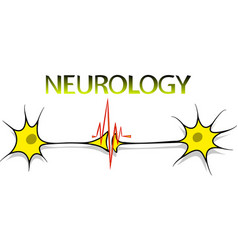 neurology logo vector image