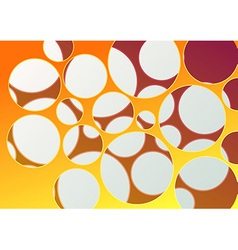 Abstract background with many holes vector image